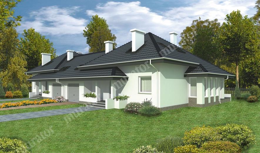 B01 Dom z widokiem (bliźniak)