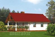 G22 Budynek gospodarczy z sauną i wiatą rekreacyjną