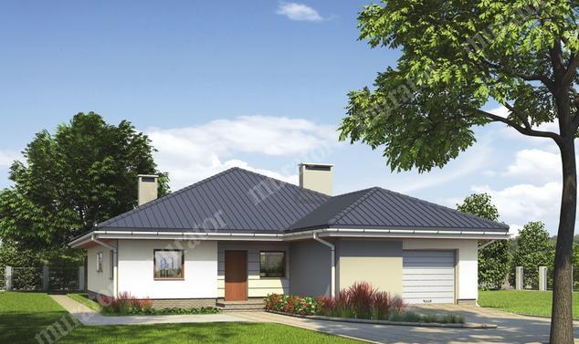 Projekt domu:  Murator M108   – Dobry klimat